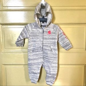 NEW Carhartt Merle & coral coverall 6M
